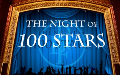 The Night of 100 Stars 2019 tickets now available!