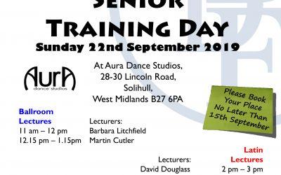 Senior Training Day '19